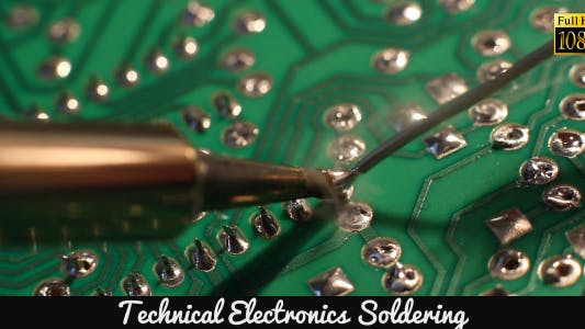 Cover Image for Technical Electronics Soldering 11