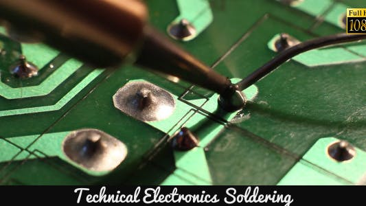 Thumbnail for Technical Electronics Soldering 12