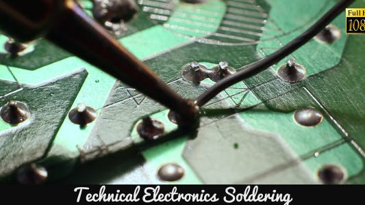 Thumbnail for Technical Electronics Soldering 13