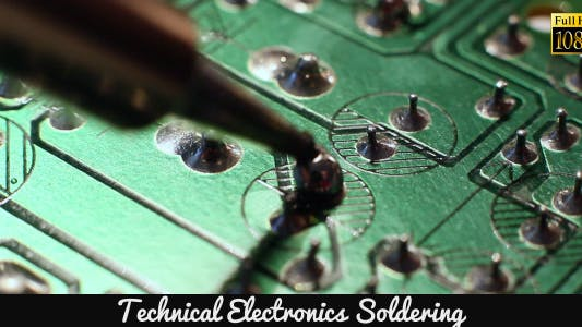 Thumbnail for Technical Electronics Soldering 15