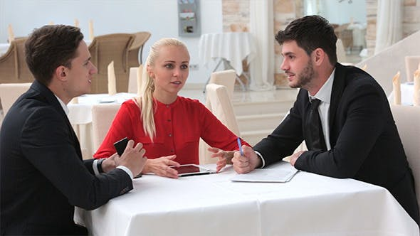 Thumbnail for Business Meeting with Agreement