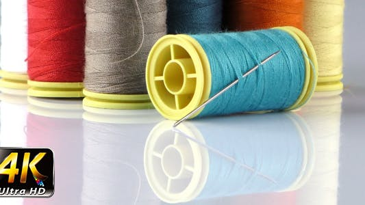 Thumbnail for Fabric Rolls and Needle