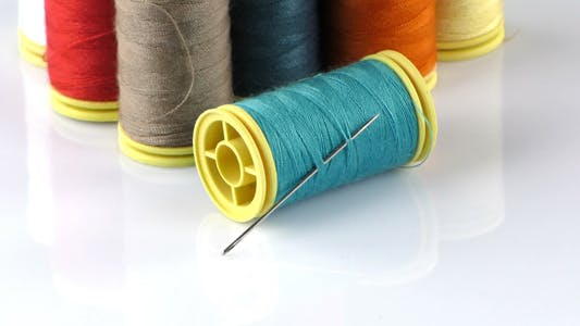 Thumbnail for Fabric Rolls and Needle 2