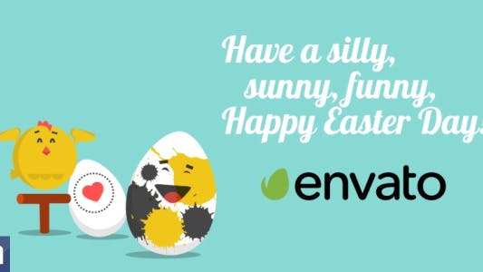 Funny Easter - Video Greeting Card