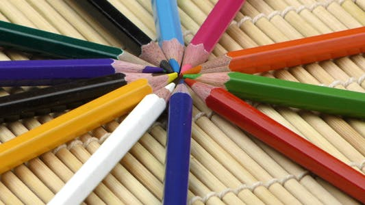 Cover Image for Colorful Paint Pencils Equipment Tools 2
