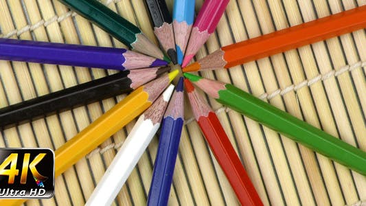 Thumbnail for Colorful Paint Pencils Equipment Tools