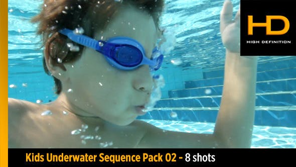 Thumbnail for Underwater Kid Pack 2 - 8 Shots