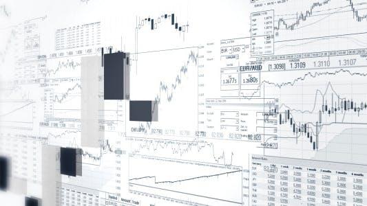 Financial Statistics Bar Graphs