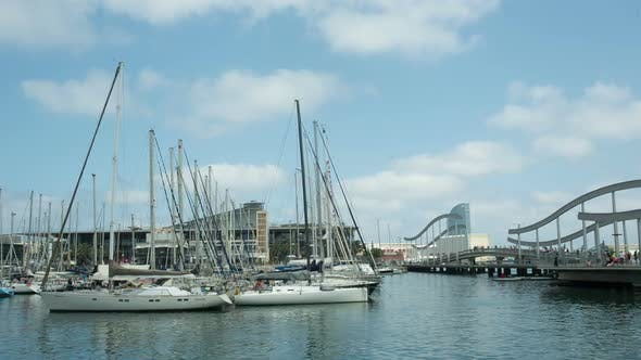 Thumbnail for Barcelona Harbour Port Boats Vacation Holidays Mediterranean 1