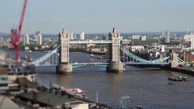 Thames Tower Bridge London England