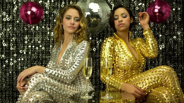 Thumbnail for Sexy Disco Party Women Catsuits 20