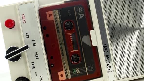 Thumbnail for Vintage Tape Recorder Cassette 2