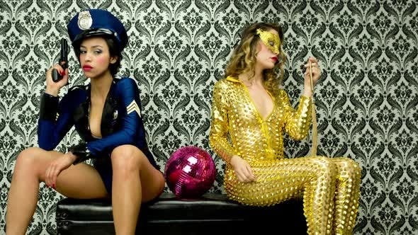 Thumbnail for Sexy Police Women And Jewel Thief Burlesque 1