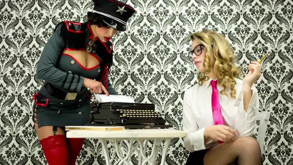 Thumbnail for Sexy Secretary Office Burlesque Business 4