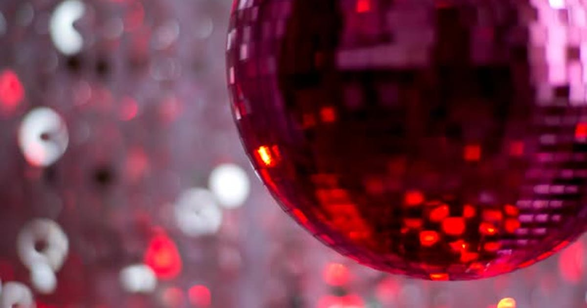 Pink Discoball 62