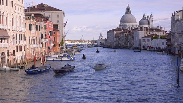 Thumbnail for Venice. Grand Canal. Basilica Santa Maria