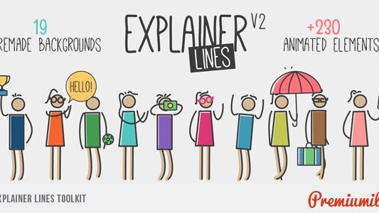 Thumbnail for Explainer Lines Toolkit