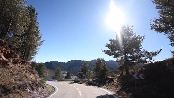Thumbnail for Pyrenees Drive Moving Car Road 3