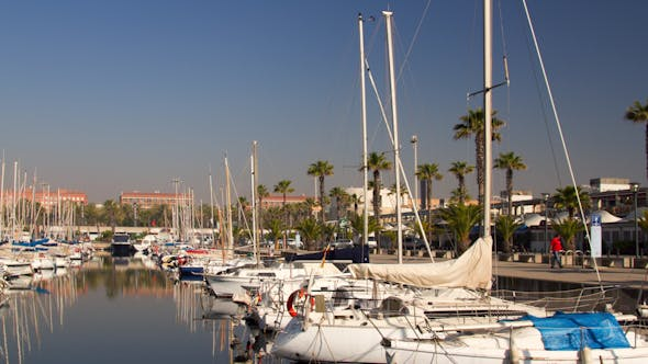 Thumbnail for Barcelona Port Olympic Harbour Boats 1
