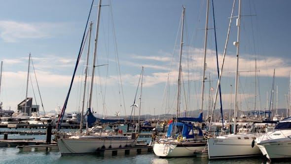 Yachts And Boats, Marina