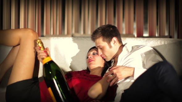 Thumbnail for Cool Couple Flirting In A Club Fun Love Romance 8