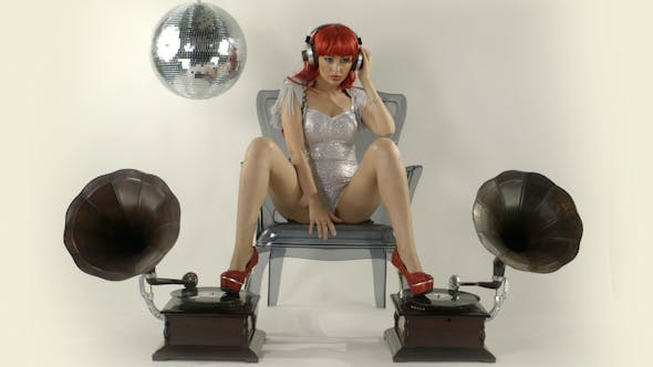 Thumbnail for Gogo Dancer Burlesuqe Gramophone 3