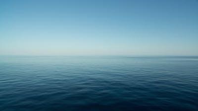 Peaceful Sea And Sky
