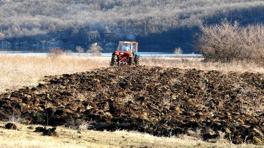 Thumbnail for Tractors During Plowing 1
