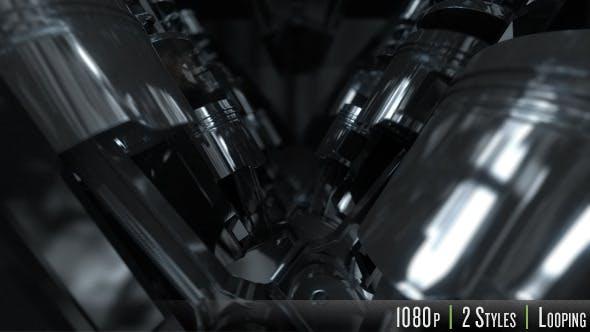 Thumbnail for Inside V8 Engine