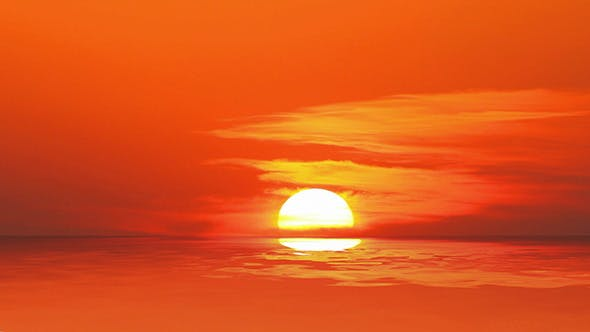 Thumbnail for Sunset Over Sea