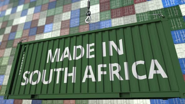 Thumbnail for Container with MADE IN SOUTH AFRICA Caption
