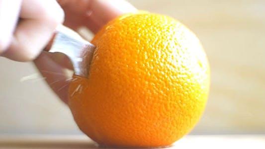 Thumbnail for Cutting An Orange