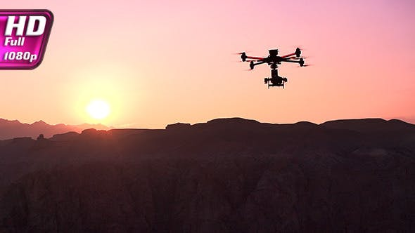 Thumbnail for Quadrocopter Over the Canyon