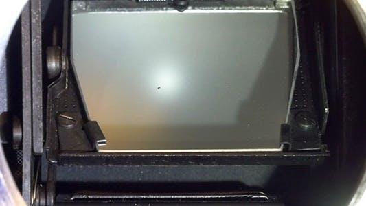 SLR Film Camera Mirror Shutter