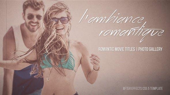 Thumbnail for L'ambiance Romantique - Títulos Cinemática | Galería