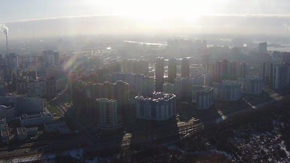 Thumbnail for Flying Over of Residential Quarters
