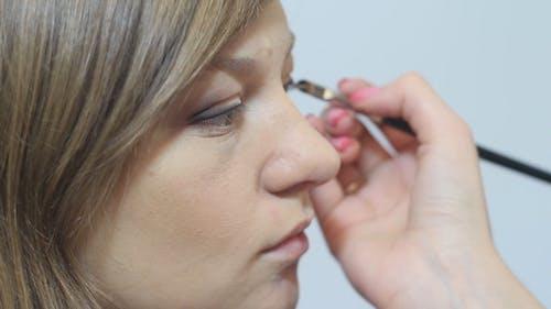 Beautiful Girl Eye Makeup
