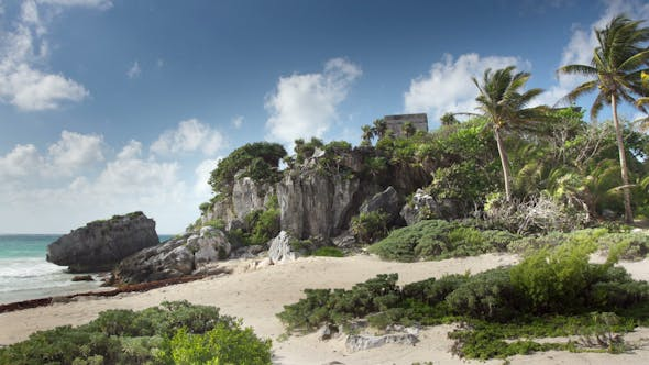 Thumbnail for Mayan Ruins Mexico Tulum No People 1