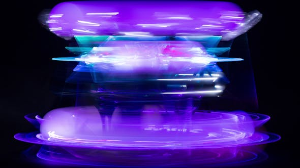 Thumbnail for Abstract Light Pattern Colorful 12