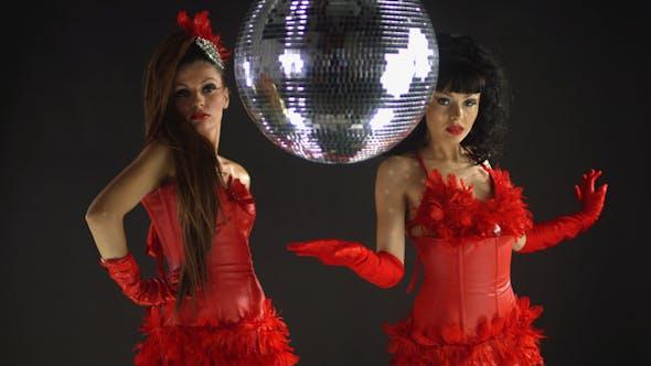 Thumbnail for Gogo Dancer Burlesuqe Disco Girl 6