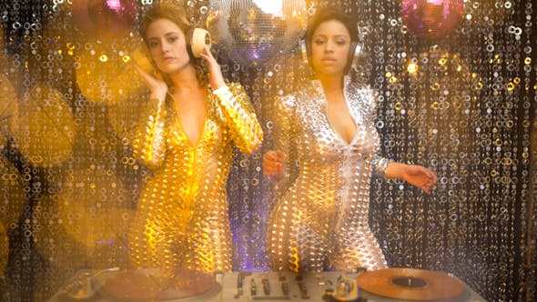 Thumbnail for Sexy Disco Party Women Catsuits 2