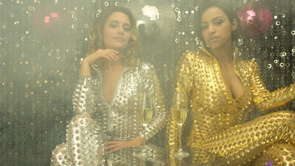Thumbnail for Sexy Disco Party Women Catsuits 22