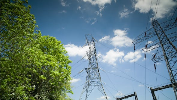 Thumbnail for Electricity Pylons From A Power Plant 7