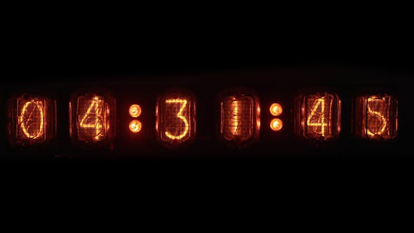 Nixie Tube Clock Numerical Counter 4