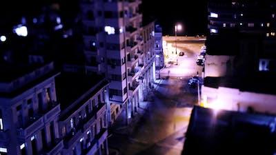 Havana Cuba Traffic Night Life 2