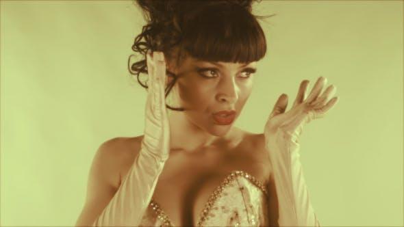 Thumbnail for Stylish Burlesque Gogo Dancer 8