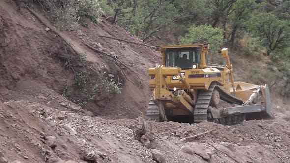 Thumbnail for Road Repair Construction Jcb