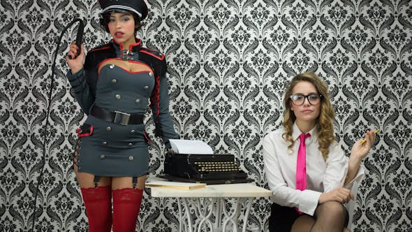 Thumbnail for Sexy Secretary Office Burlesque Business 2