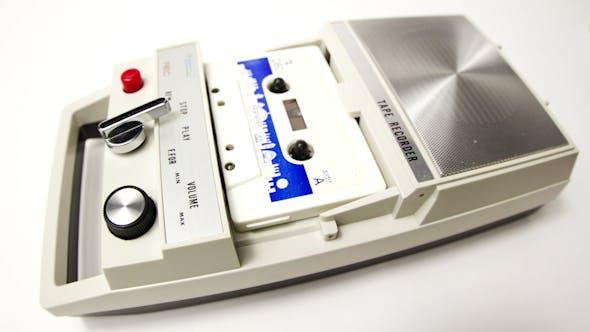 Thumbnail for Tape Recorder Vintage Cassette 9