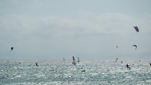 Kite Surf In Tarifa, Andalusien Spanien 3